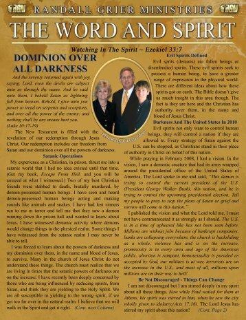 January 2010 Newsletter - Randall Grier Ministries