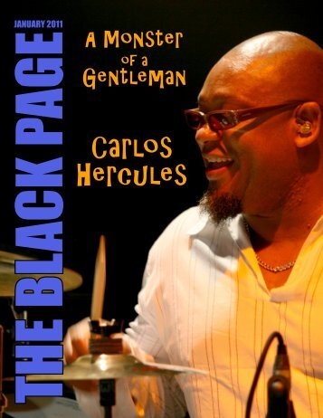 Carlos Hercules - The Black Page Online Drum Magazine