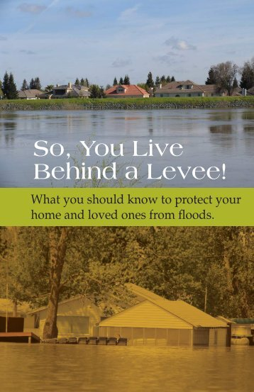 So, You Live Behind a Levee!