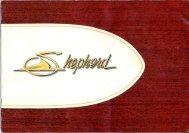 1963 Colour Brochure (PDF file 1965 kb) - Shepherd Boats