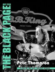 King of the all round greats - The Black Page Online Drum Magazine