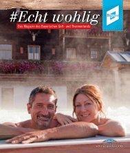# Echt wohlig - Das Magazin des Bayerischen Golf- und Thermenlandes - Herbst 2015