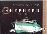 1959 colour Brochure (PDF file 2268 kb) - Shepherd Boats