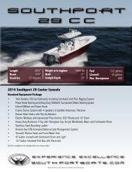 29 CC Brochure - Southport Boats