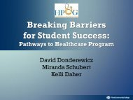 Breaking Barriers for Student Success: Pathways to ... - ADVISING