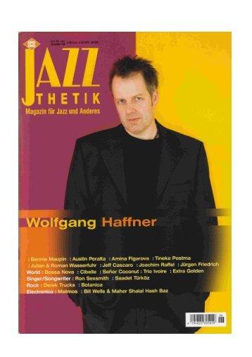 01.06.2006 - Jazzthetik - Wolfgang Haffner - ACT Music + Vision