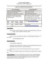 English 1301 Syllabus - Van Piercy's Blog