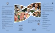Vision Shaping Child Health in New Jersey for the 21st Century The ...