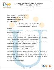 90023- Introducción a la Ingeniería Industrial 1 GUIA ... - inicio - Unad
