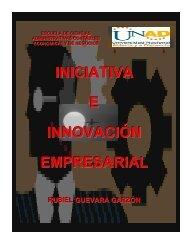 INICIATIVA E INNOVACIÓN EMPRESARIAL - inicio - Unad