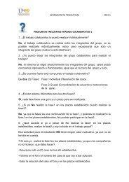 PREGUNTAS FRECUENTES TRABAJO COLABORATIVO-1 1. Â¿El ...