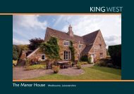 The Manor House Medbourne, Leicestershire