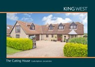 The Cutting House Castle Bytham, Lincolnshire