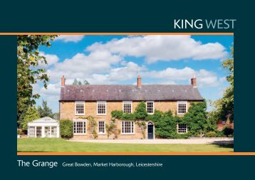 The Grange Great Bowden, Market Harborough, Leicestershire