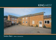 Sutton Barn Walton, Leicestershire