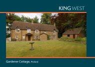 Gardener Cottage, Pitsford