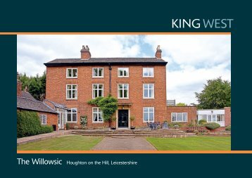 The Willowsic Houghton on the Hill, Leicestershire