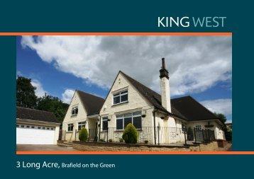 3 Long Acre, Brafield on the Green