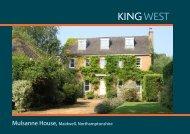 Mulsanne House, Maidwell, Northamptonshire