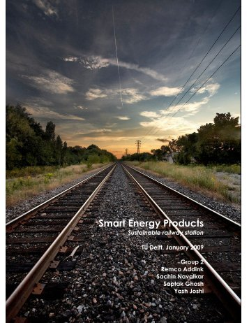 Smart Energy Products - from and for SET students