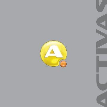 Broad da nova logotipia da Activas.