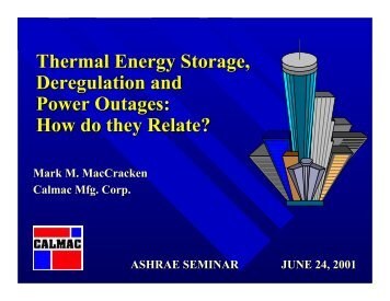 444KB PDF - TC 6.9, Thermal Storage