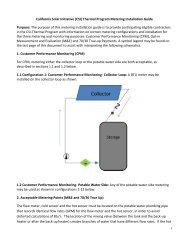 Csi Thermal Inspection Checklist Go Solar California