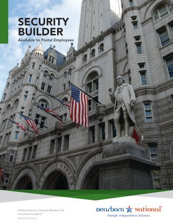 security builder - Federal and Postal Employee Voluntary Benefits