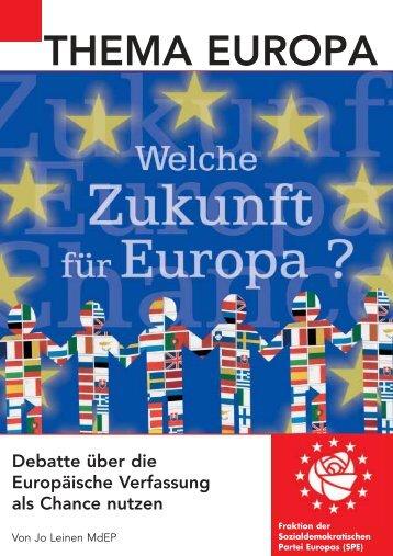 Welche Zukunft für Europa