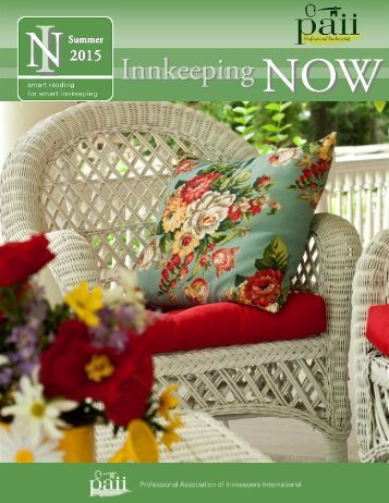 Innkeeping NOW Summer 2015