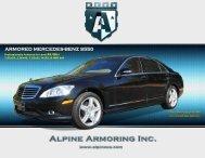 ARMORED MERCEDES-BENZ S550 - Alpine Armoring Inc.