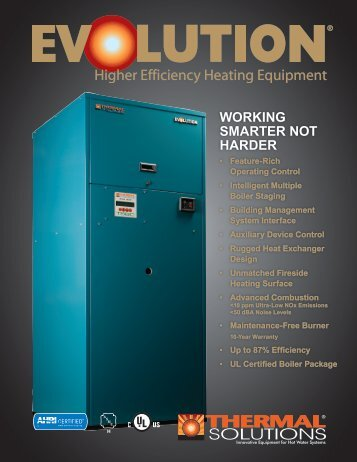 Brochure - EVS - Categories On Thermal Solutions Products LLC