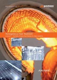 Homogeneous Heat Treatment - promeos GmbH