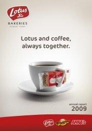 Lotus and coffee, always together. - Lotus Bakeries