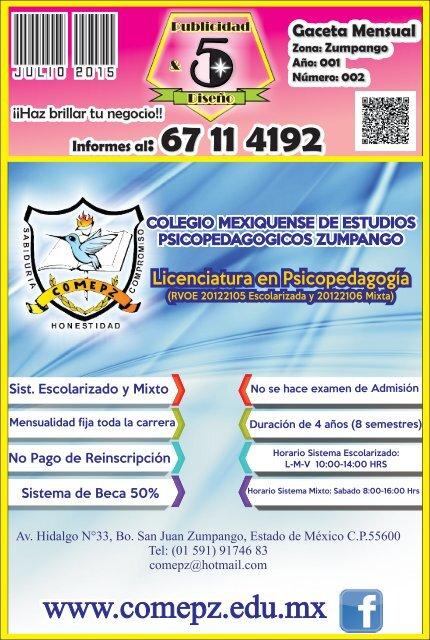 Revista Oficial Julio 2015