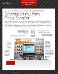Beat Zampler 1/3 - Grand Piano - plasticAge.de