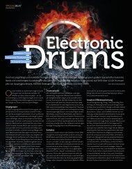 Electronic Drums - BEAT 11/2011 - plasticAge.de