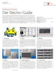 Der Electro Guide - BEAT 12/2011 - plasticAge.de