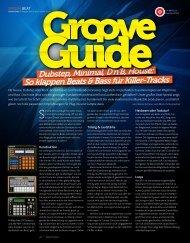 Groove Guide - BEAT 05/2013 - plasticAge.de