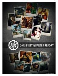 Funcom's 2013 Q1 report