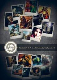 Funcom Annual Report 2012