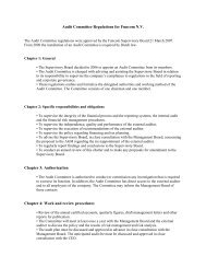 Audit Committee Regulations for Funcom N.V. Chapter 3 ...