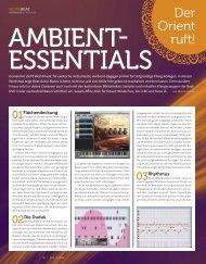Ambient Essentials - plasticAge.de