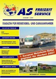 geführte reisen - AS Freizeit Service