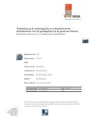 Toelichting op de archeologische en cultuurhistorische - Gemeente ...