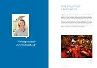 Interview met Leora Boot - Stadsherstel Amsterdam