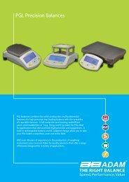 PGL Precision Balances - E-Tronics