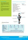 Crochet Peseur IHS - Adam Equipment - Page 2
