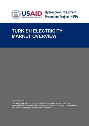 turkish_electricity_market_overview - Hydropower Investment ...