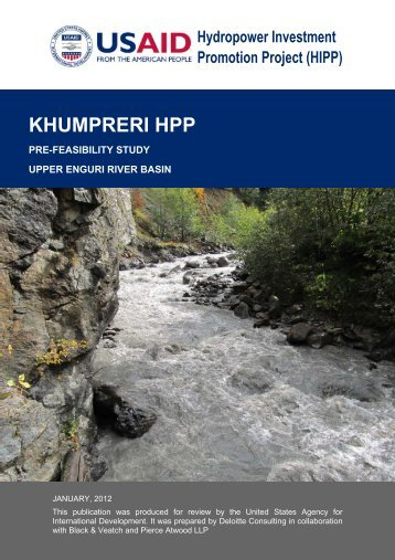 khumpreri hpp - Hydropower Investment Promotion Projects